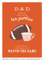 Football and Tea by Up Up Creative