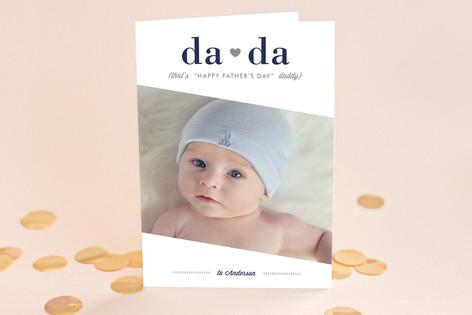 Da Da Father's Day Greeting Cards