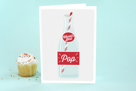 World's Best Pop Father's Day Greeting Cards