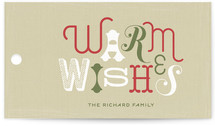 Rustic Wishes Gift Tags