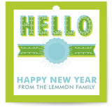 Big Hello Gift Tags