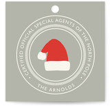 North Pole Certified Gift Tags