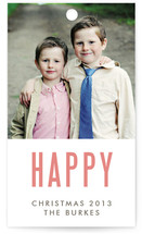 We&#039;re Happy Gift Tags