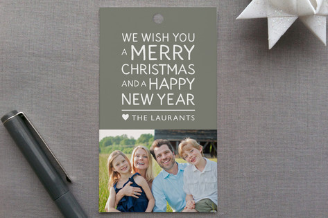 Family Framed Gift Tags