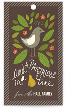 In a Pear Tree Gift Tags