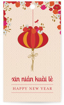 Xin Nian Kuai Le Gift Tags