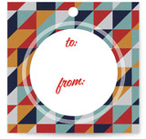 Retro Tidings Gift Tags