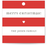 Bright Stripes Gift Tags