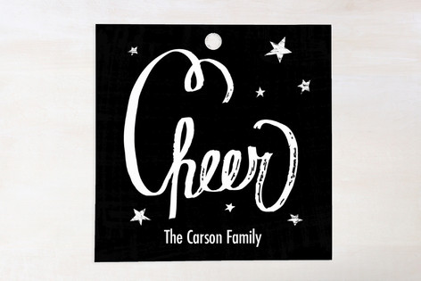 Chalked Cheer Gift Tags