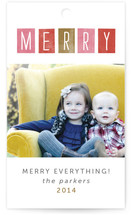 Just Merry Gift Tags