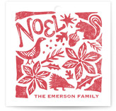 Pastoral Noel Gift Tags