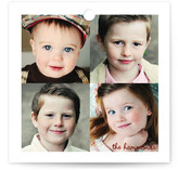 4 Photo Peppermint Gift Tags