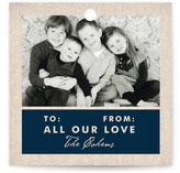 Rustic Hanukkah Greeting Gift Tags