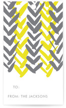 Chevron Gift Tags