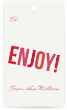 Enjoy! Gift Tags