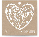 Paper Cut Tag Gift Tags