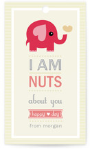 Nutty Elephant Gift Tags