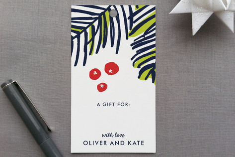 Modern Pine Gift Tags