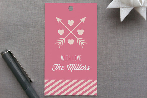 Conversation Heart Valentine Gift Tags