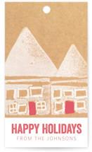 Red Door Village by Deborah Velasquez