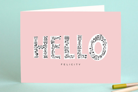 Hello Just Because Greeting Cards
