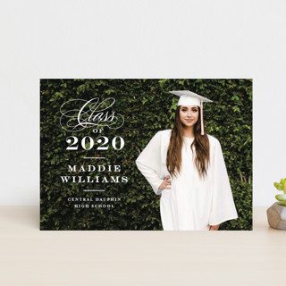 Stacked class Graduation Petite Cards
