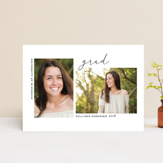 On Two Graduation Petite Cards