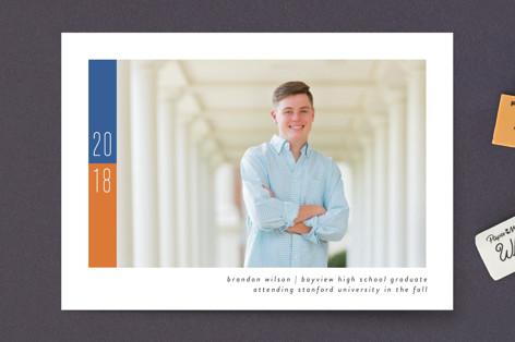 School Color Graduation Petite Cards