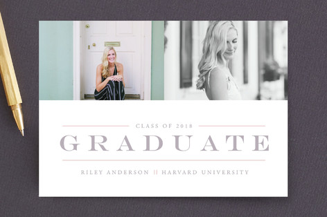 Classy & Classic Graduation Petite Cards