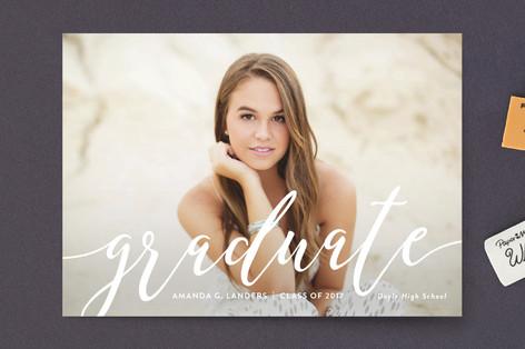 Outline Graduation Petite Cards