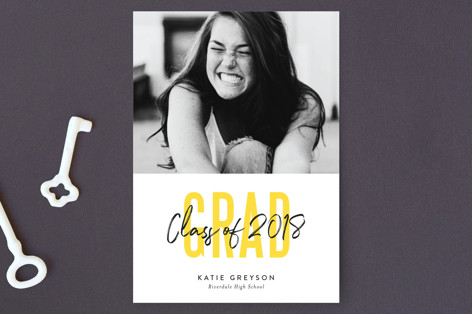 Bold Highlight Graduation Petite Cards