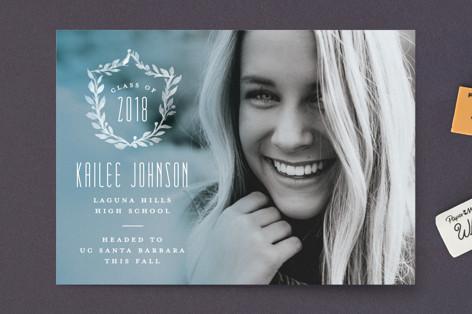 Crest Graduation Petite Cards