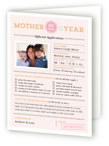 Mother of the Year Mother's Day Greeting Cards