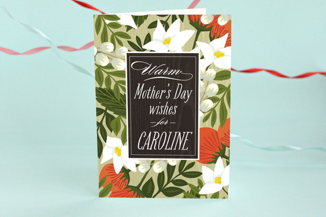 Blossoming Rainforest Mother's Day Greeting Cards