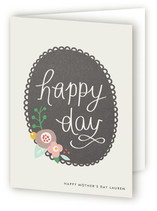 Scalloped Frame Mother's Day Greeting Cards