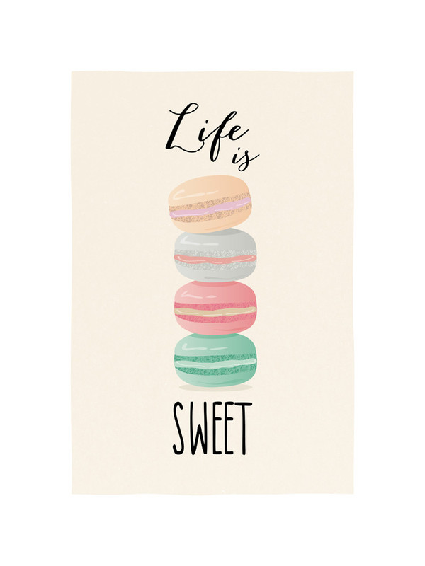 macarons life is sweet