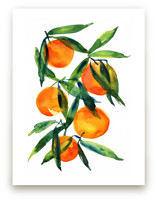 Tangerine Art Prints