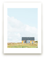 Yellow House At The Hil... by Alexandra Feo