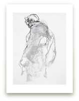 Drawing 357 - Figure from the Side