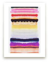 Behind The Veil 2 by Kristi Kohut - HAPI ART AND PATTERN
