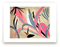 Pink foliage by FERNANDA MARTINEZ