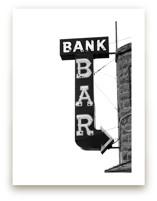 Bank Bar by Calais Le Coq