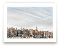 Minimalist Sunset in Amsterdam