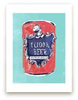 Beer Diptych (i) by Zoe Pappenheimer
