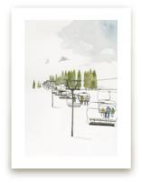 Ski Lift by Monica Loos