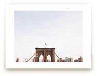 Minimalist's View of the Brooklyn Bridge