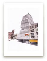 New York Street by Viktoria Eperjesi