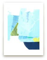Chartreuse and Blue Moo... by Hi Uan Kang Haaga