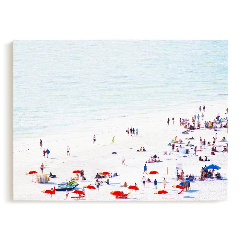 Bright Beach Art Print