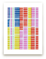Gridlocked Art Prints